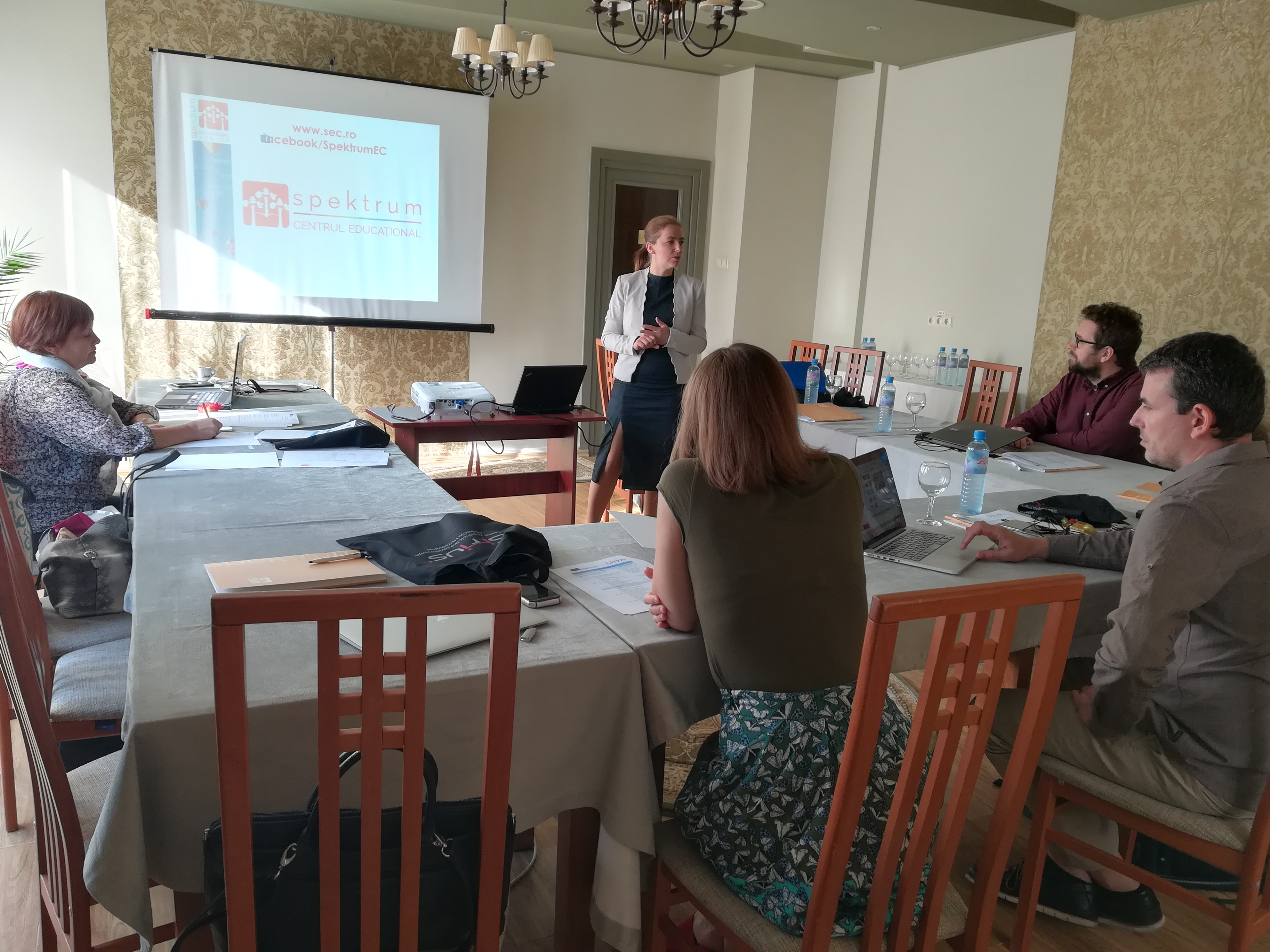 VR not Bullies kick-off meeting in Mierurea Ciuc (RO)
